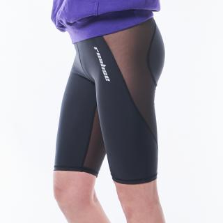 【LG-001ST】メッシュパネルバイクパンツ   Panel Mesh Bike Pants(High stretch fabric)