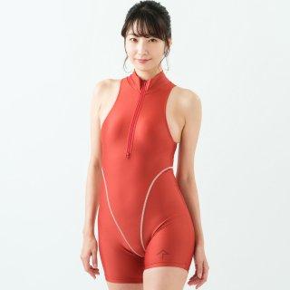 【FBSS-2】アクティブジャンプスーツ(ショート)/ Active Short Jumpsuit(イージーストレッチ)