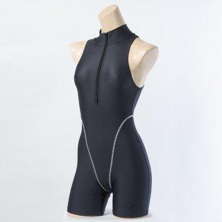 【FBSS-2Plus】アクティブジャンプスーツ(ショート)/ Active Short Jumpsuit(イージーストレッチ)