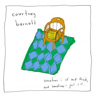 Courtney Barnett<br>「Sometimes I Sit and Think, and Sometimes I Just Sit」<br>《国内盤CD》