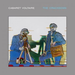 CABARET VOLTAIRE  <br>『The Crackdown』<br>《国内盤CD》<br>《MUTE ロゴ・ステッカー付 !》