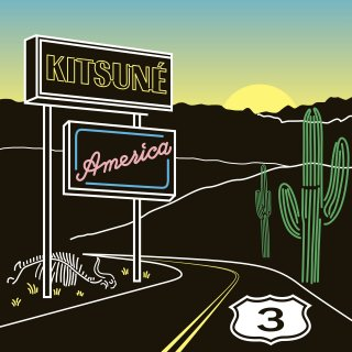 various artists<br>「Kitsuné America 3」 <br>《輸入盤CD/帯付》