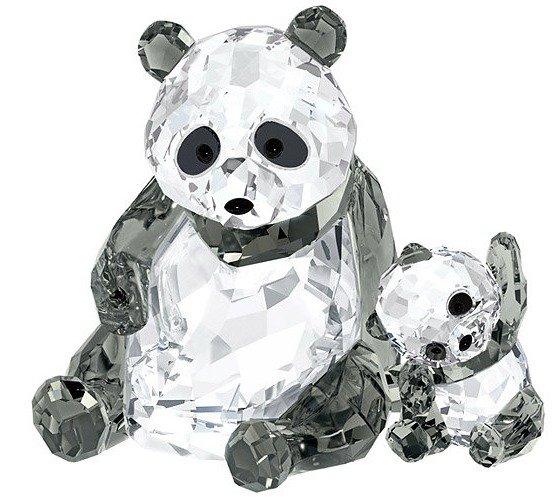 スワロフスキー パンダの親子 5063690