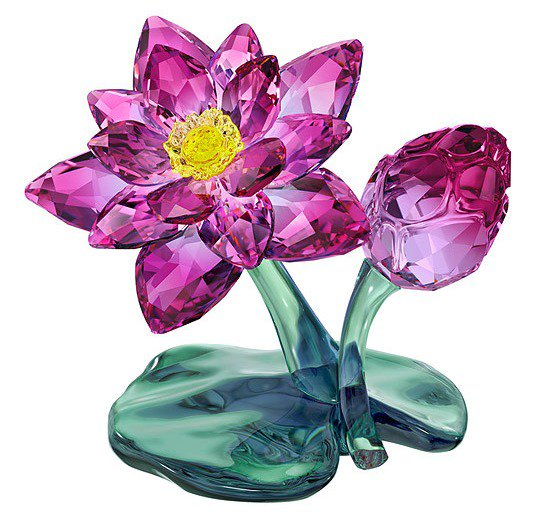 スワロフスキー フィギュリン 蓮の花(ハス) 5275716【送料無料】