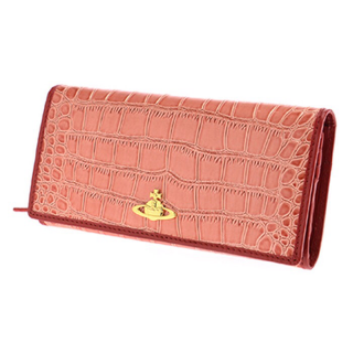 Vivienne Westwood ヴィヴィアン・ウエストウッド NEW CHANCERY 長財布 ピンク/シルバー 1032【カードOK】PCのみ対応