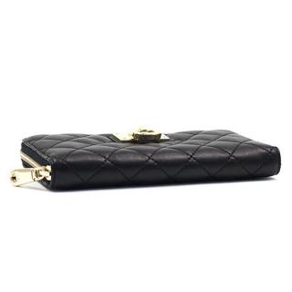 DKNY ダナキャランニューヨーク NEW LG CARRYALL 長財布 ブラック R4421708【カードOK】PCのみ対応
