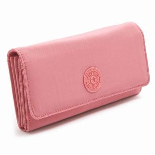 Kipling BROWNIE 長財布 レディース Shell Pink キプリング【カードOK】PCのみ対応