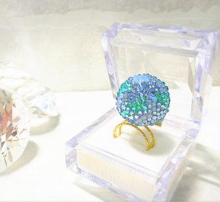 【Earth jewelry line】Earth double ring(ギフト用BOX付)
