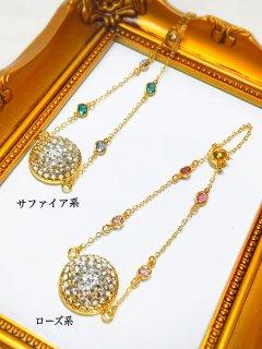 【globeライン】スワロフスキーのHalf of the globe bracelet