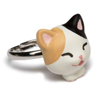 猫リング / 三毛 / RN-1001