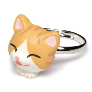 猫リング / 茶トラ白 / RN-1002