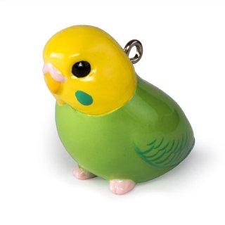鳥シリーズ セキセイ インコ BO-2001 イエローグリーン