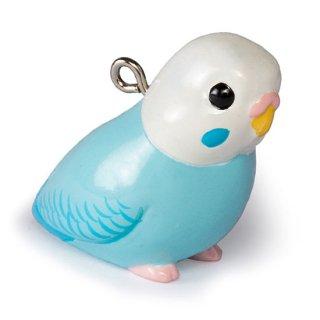 鳥シリーズ セキセイ インコ BO-2002 ホワイトブルー