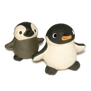 動物もん 親子ペンギン インテリア 置物 セット KD-2012