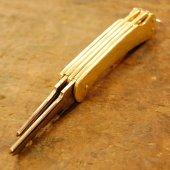 ナイフ形キー(カギ2連バージョン)