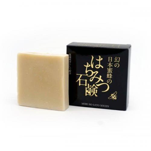 日本蜜蜂のはちみつ石鹸<br>80g<br>