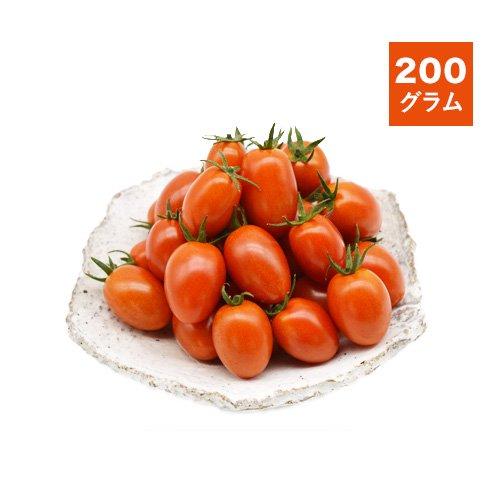 農薬不使用ミニトマト(アイコ)<br>200g<br>