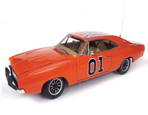 """オートワールド 1/18 1969 ダッジ チャージャー """"THE DUKES OF ..."""