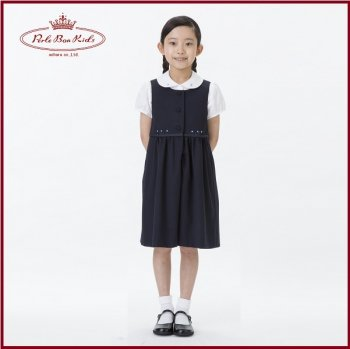 ギャザージャンパースカート(手刺繍)