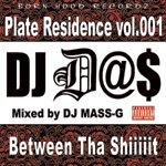DJ D@$ / PLATE RESIDENCE vol.001