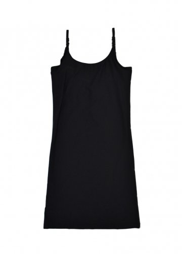 ヤスミン エスラミ L20S-YAS-OP05 Lou Slip Dress BLACK