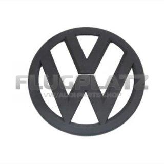 VWエンブレム フロント (マットブラック) /ゴルフ7