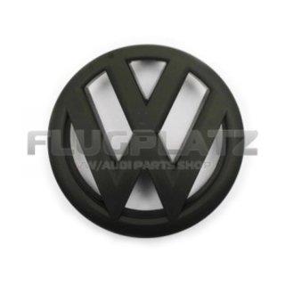 VWエンブレム フロント (マットブラック) /ポロ6R ポロ6C