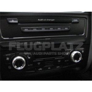 エアコンダイヤル アルミキャップ /AUDI A4 A5 Q5