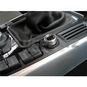 オーディオスイッチ アルミキャップ /AUDI A4 A5 Q5