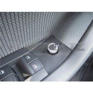 ドアミラースイッチ アルミキャップ /AUDI A1 A3 A4 A6 A8 Q3 Q7 TT R8