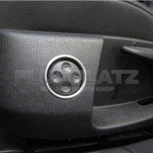 パワーシートスイッチ アルミリング /シロッコ AUDI A3 A4 A5 A6 A7 Q7