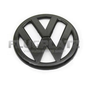 VWエンブレム リア (グロスブラック) /ゴルフ6 ザ・ビートル ポロ6R ポロ6C パサート3C