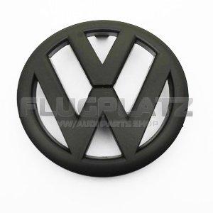 VWエンブレム フロント (マットブラック) /ゴルフ6