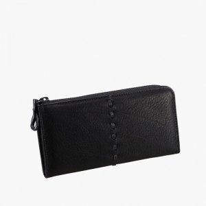 ROUND ZIP wallet / スムース革