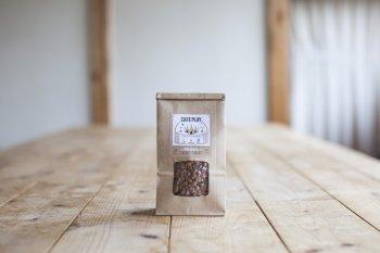 新商品!カフェプレ -home roast-<br>アウトドア用 焙煎用生豆<br> <br><br>TSUKIKOYAが提案するオリジナルコーヒー<br> <br>1分で焼ける生豆