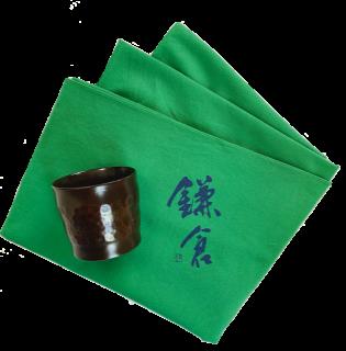 【数量限定!】!鎌倉彫ぐい呑みとオリジナル風呂敷