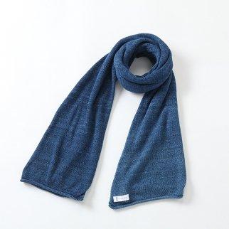 天竺編みストール