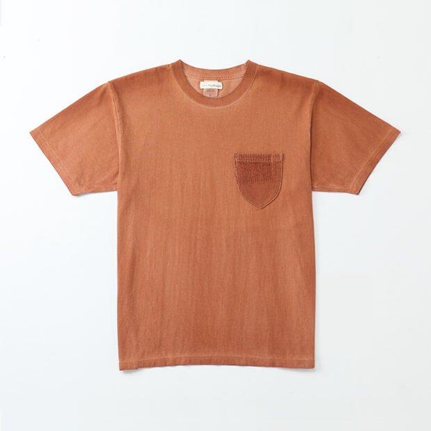 柿渋染めTシャツ