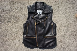 <img class='new_mark_img1' src='//img.shop-pro.jp/img/new/icons25.gif' style='border:none;display:inline;margin:0px;padding:0px;width:auto;' />Blackmeans×Volcom Leather Vest