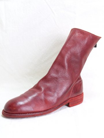 BACK ZIP MID BOOTS