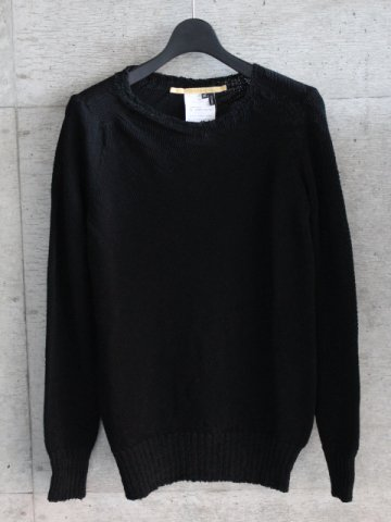 SEAMLESS LONG SLEEVE ROUND NECK SWEATER