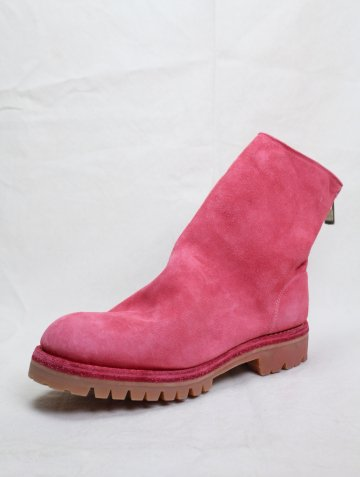 <img class='new_mark_img1' src='https://img.shop-pro.jp/img/new/icons8.gif' style='border:none;display:inline;margin:0px;padding:0px;width:auto;' />BACK ZIP BOOTS SOLE RUBBER