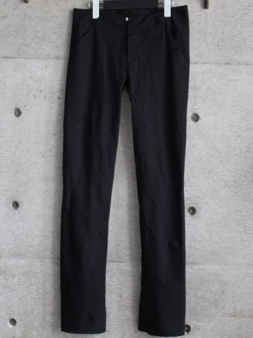 POPLINE STRETCH SPIRAL PANTS