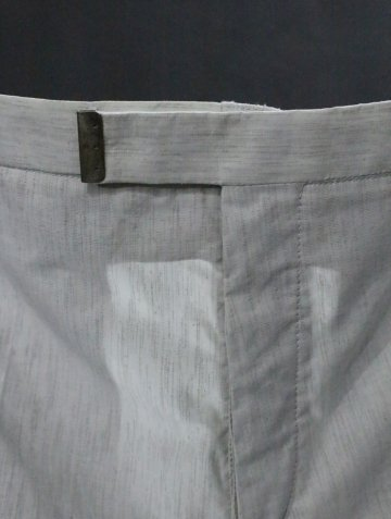 COTTON POLYESTER TROUSER