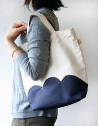nuages bag - navy