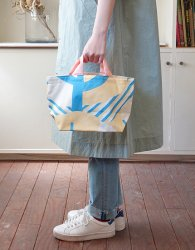 forest bag S - blue