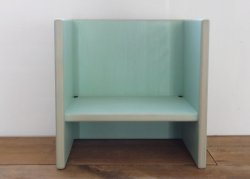 kinder chair - aqua