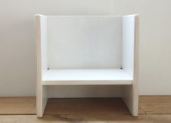 kinder chair - white
