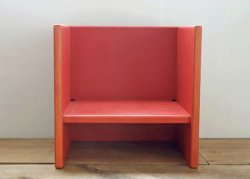 kinder chair - red