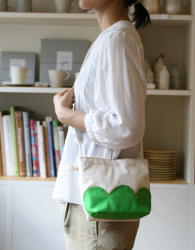 nuages petit bag - green
